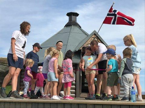 OPNING: Her opnar dei Draumeplassen «Ørnereiret» .