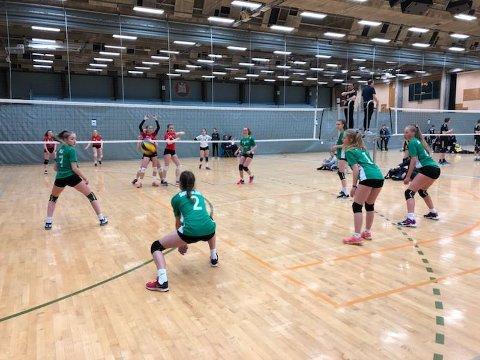 Volleyball har lange tradisjonar i Svelgen.