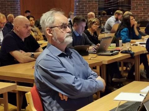 DØRA ER SMELT IGJEN: Geir Oldeide meiner at døra for reversering av Kinn no er lukka ettertrykkeleg igjen.