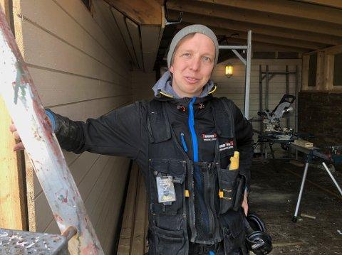 BREMANGER BYGG: Dagleg leiar Harald Erlandsen og medarbeidarane gjer det godt i byggebransjen for tida.