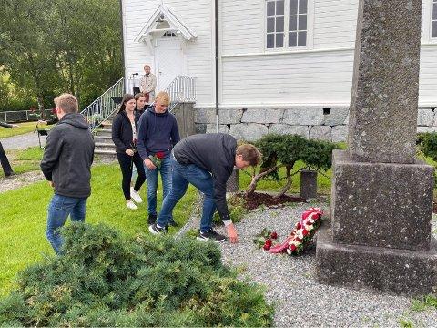 FELLESSKAP: Anne Kristin Førde meldar om ei fin markering med om lag 90 frammøtte.