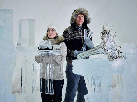 Terje Isungset og Maria Skranes.