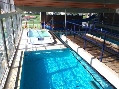 BADETID: Tysdag 20. september opnar bassenget for små og store utan vass-skrekk.