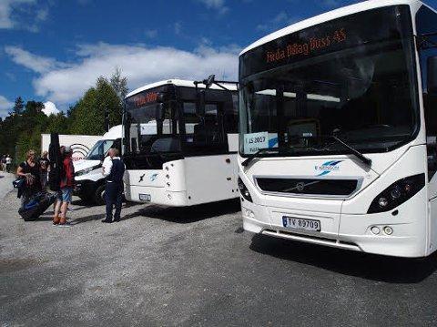 Bussane frå Firda Billag legg bak seg omtrent 15.000 kilometer i løpet av denne veka.
