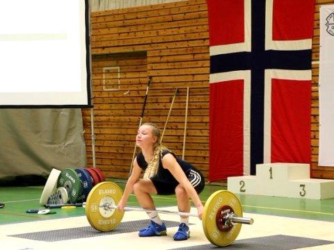 BRONSE: Oda Helene Sunde Svendsen tok bronse i klasse 63 kilo.