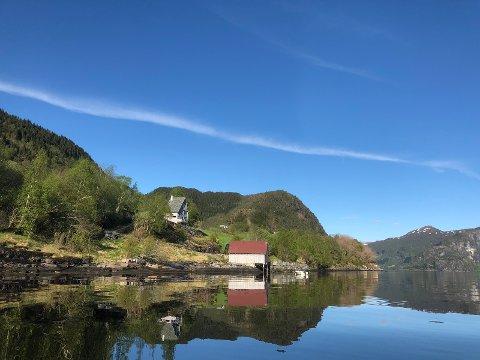 FJELLET: Engebøfjellet sett frå vest.