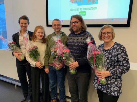 Frå venstre Natalia A. Golis, Pauline Tomren, Mark Taylor, Øyvind Strømmen og Mona Høgli.