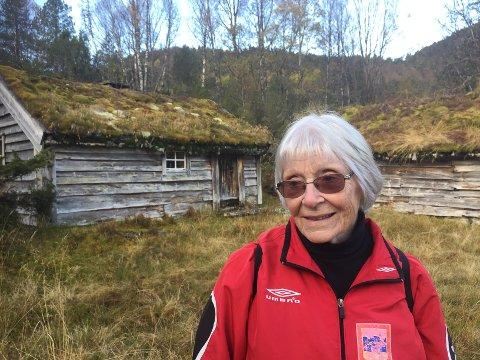 FORFATTAR: Svanhild Oppedal har skrive bok om stølane i Gaular.