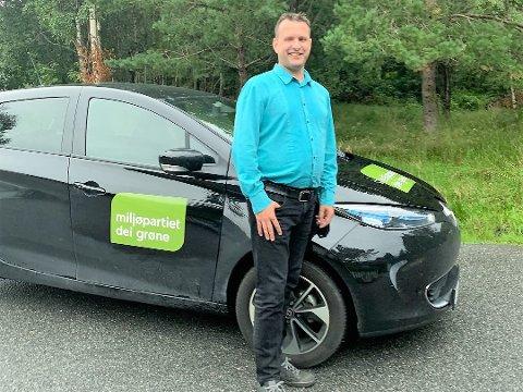 TJUVERI: MDG-politikar Odd Bovim fekk bilen sin stolen måndag kveld.