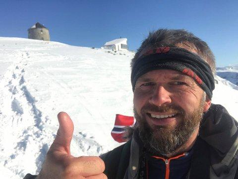 ENTUSIAST: Jan Bjarte Skrøppa er ein ekte turentusiast, både på sommar- og vinterstid.