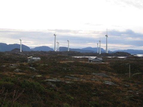 NEI: Fylkesmannen rår Fjaler kommune til å ikkje dispensasjon frå reguleringsplanen. Lutelandet Energipark treng dispensasjonen for å kunne bygge større vindturbinar, slik NVE har gitt dei løyve til.