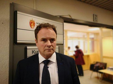 SAMARBEID:  40-åringen sin advokat, Ivar Blikra, seier mannen er letta over å vere ute av isolasjon.