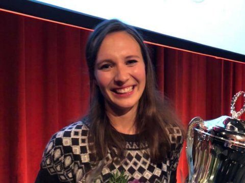 FLINK Å SNAKKE: Siri Vatsø Haugum (27) vann Forskar Grand Prix i Bergen på onsdag.