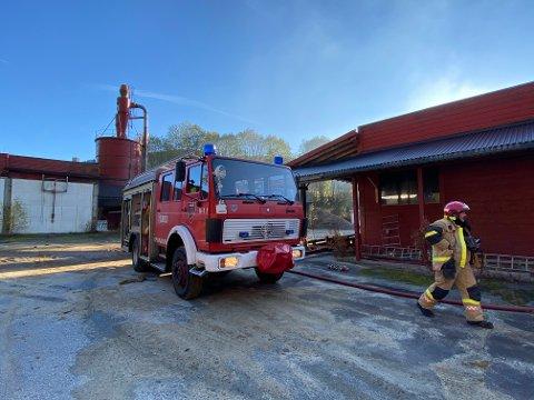 Naudetatane rykte onsdag ettermiddag ut til Sunnfjord Sag i Bygstad.