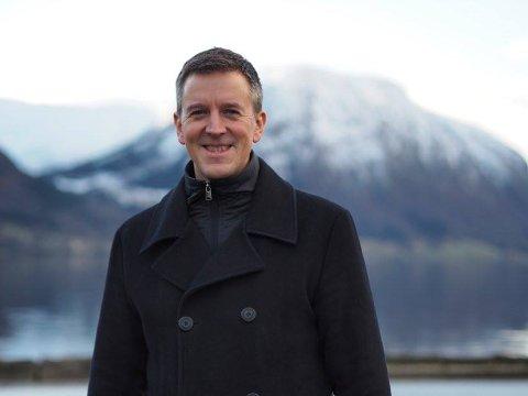 PÅ TOPP: Erling Sande frå Gloppen er vald som Sp's nye stortingsrepresentant i Sogn og Fjordane.