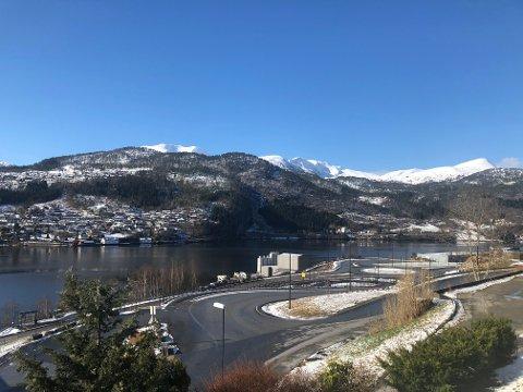 SNØ: Meteorolog Steinar Skare ser ikkje bort i frå at vi får eit nytt møte med snøen.