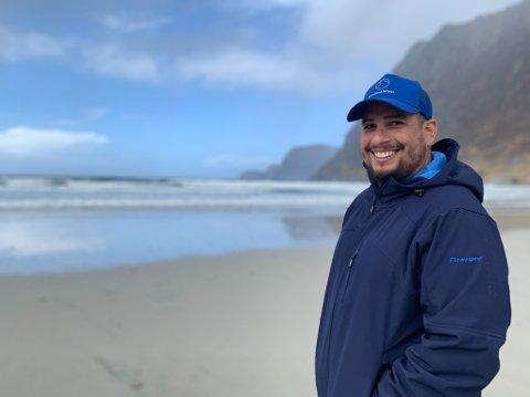 SKIFTAR JOBB: Daniel Lira Figueiredo har kapra stillinga som programarbeidar i KFUK/KFUM.
