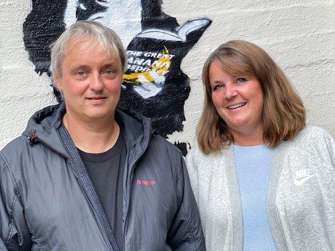 NYE EIGARAR: Eirik Strand og kona Therese Strand er dei nye eigarane av Fagernes hytte- og konferansesenter.