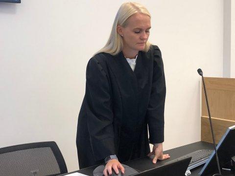 PÅTALE: Kristine Herrebrøden er aktor i saka.