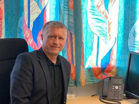 NY JOBB: Vidar Øvrebø (55) har dei siste seks åra jobba som avdelingsleiar for Pasientreiser i Helse Førde. No har han fått ny jobb.