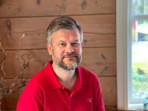 SLUTTAR: Kjartan Aa Berge har jobba som administrerande direktør i Musea i Sogn og Fjordane sidan 2017. No seier han opp.