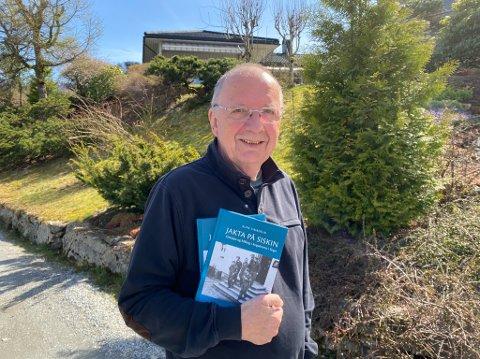 BESTSELJAR: Rune Timberlid har arbeidd med lokal krigshistorie. Det resulterte i bok, som no er inne på toppliste.