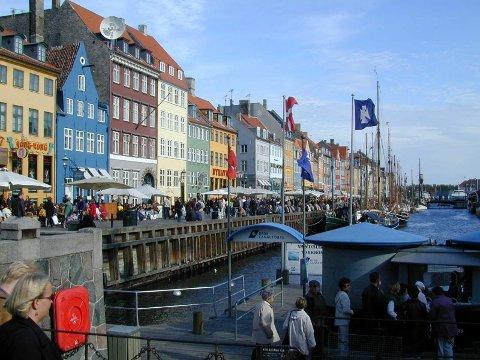 KØBEN: Nyhavn er eit kjent område i København.
