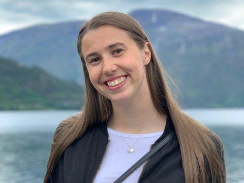 FERDIG SOM STUDENT: Ida Bahus svarar på 20 spørsmål.