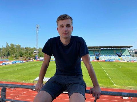 FILMAR OL: Fredrik Dyrstad Valberg (26) reiser til OL saman med Discovery.