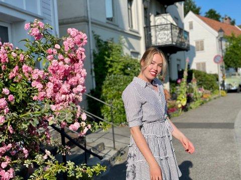 MUSIKKSTUDENT: I lag med andre frå innland og utland, skal Martine Håland gå på musikkskule i Lillehammer det neste året.