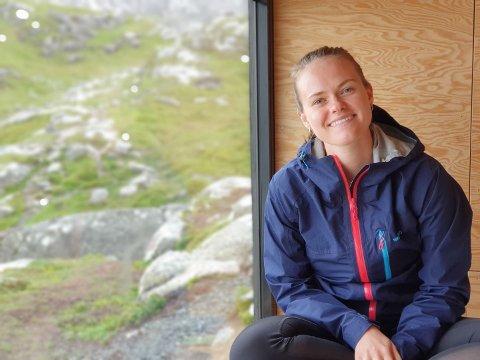 UTFORDRINGAR: Nattbussen mellom Trondheim og Førde er innstilt. Det skapar utfordringar for fleire studentar, blant anna Amalie Bruland.