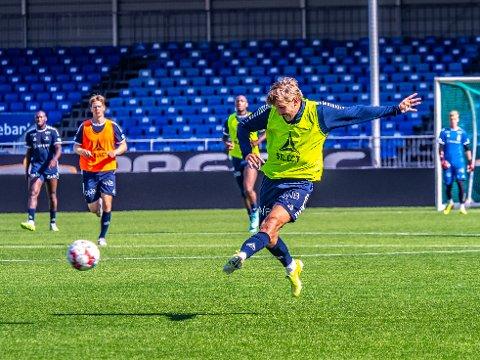 NY KLUBB: Mandag deltok Steffen Lie Skålevik på sin siste trening med Sarpsborg 08 i denne omgang. Nå går ferden videre til Sogndal der han skal hjelpe klubben til opprykk fra 1. divisjon.