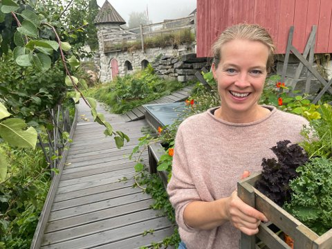 EKTE MAT BEST: – Behovet for ekte mat i knappen har vore lenge. Men teknologien for å få det til praktisk, med distribusjon og logistikk, har ikkje vore så enkelt. No er det mogleg. Alt ligg til rette for å få det til, det betyr mykje, seier Heidi Aabrekk.