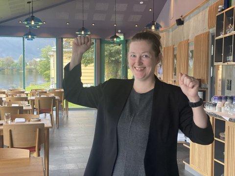 GJENÅPNING: Frå klokka 16 laurdag 25. oktober blir det full gjenopning i Norge. Det jublar Pikant-sjef Rebecca Ullebø for.