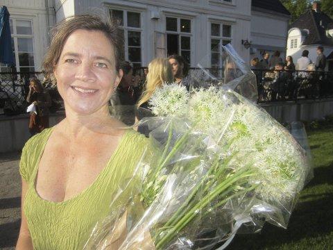Prisvinneren: Kari Hasselgård Størdal fikk prisen fredag kveld.                                                                                                                                                                                                                               Foto: Tore Tindlund