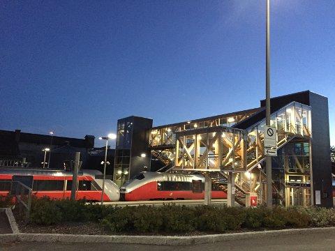 Buss til stasjonen fra nyttår: Bussruten fra Vestbygda går til Råde Mølle, rett ved stasjonen i Råde. (Arkivfoto: Øivind Lågbu)