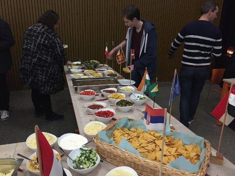 Populært med deltakelse i lunsj-NM både blant ansatte og elever ved Borge ungdomsskole