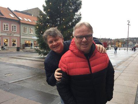 Ørjan Løvdal og Dag Solheim vil lage hockeyfest i romjulen.