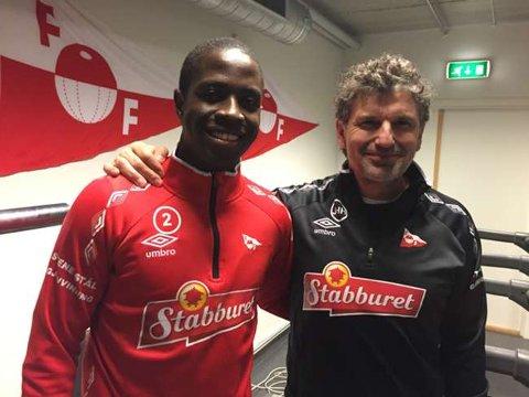Moustapha N'Diaye har signert en kontrakt med FFK.