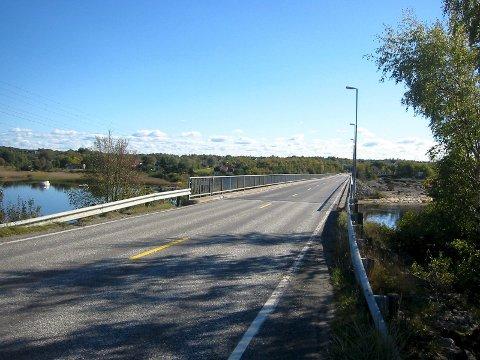 Idyll: Gang- og sykkelvei langs den trafikkerte fylkesvei 108 på Hvaler har vært et ønske i mange år.