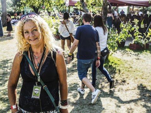GIR SEG:  Månefestival-sjef Torill Frydenlund er ordknapp om oppsigelsen hun sendte Gamlebyen Festivaldrift i juli. Oppsigelsestiden er på seks måneder.  Arkivfoto: John Johansen