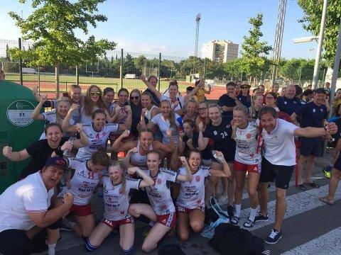 Blide Østsiden jenter med suksess i Spania