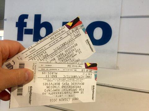 VIP: Vinn VIP-billetter til mandagens FFK-kamp mot Jerv. I tillegg til gode plasser får du også middag før kampen.