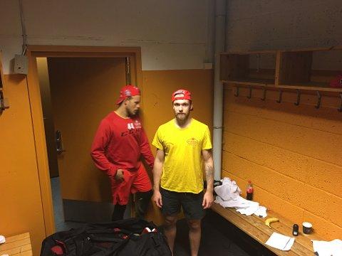 SKUFFET: Sander Berg var skuffet etter tapet mot Storhamar.