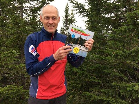 En fornøyd Øystein Ruud i Fredrikstad Skiklubb kan fortelle at Stolpejakten har passert godt over tusen deltagere.