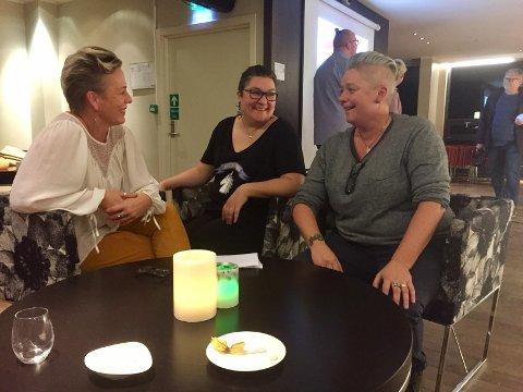 STOLT: Desirée Ulvestad-Grandahl,Karen Marie Ulvestad-Grandahlog Helga Aakre skal arrangere festivalen STOLT2018.
