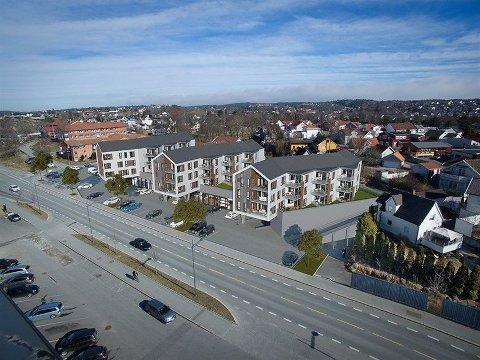 Positiv tross treg start: Til tross for at det kun er solgt seks leiligheter, er ikke Dag Thomas Svendsen på en oppgang etter jul.