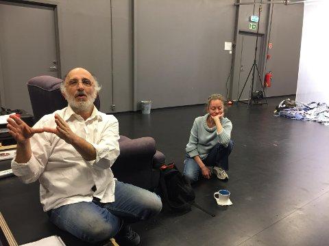 – Slik det ser ut nå må vi dessverre avslutte Studium Actoris fra 1. januar 2019,  sier Jannicke Stensnes og Paolo Martin som har drevet teatergruppen siden 1989.