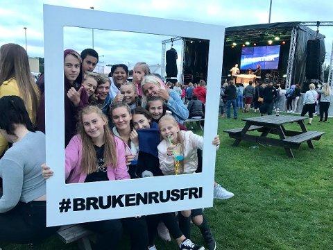 Rusfri fest: Brukenforeningen er blant søkerne på lokalsamfunnsfondet. De vil arrangere Bruken rusfri festival for femte gang neste sommer.