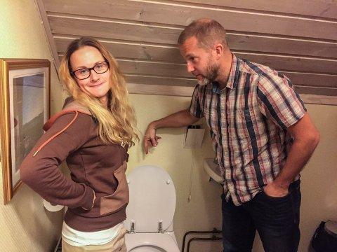 Dra i snora: Camilla Storm og Nick Simons har laget animasjonsvideo til en sang for britiske Hopster. Moralen er: Dra ned etter deg!